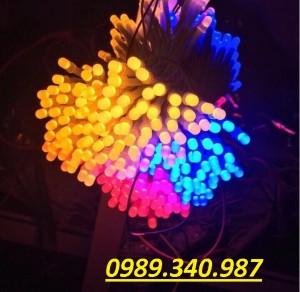 LED 5mm liền dây-Vàng